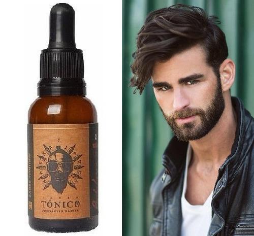 tonico crecimiento barba larga x3 activador piloso efectivo