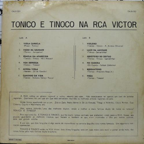 tonico e tinoco na rca viola cabôcla vinil 1970 sertanejo