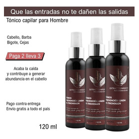 Tónico Para Barba 8% Kit 3x2 - mL a $416