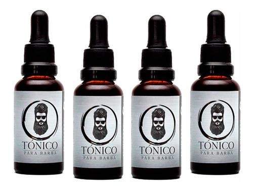 tónico para barba x4 unidades