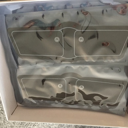 tonificador abdominal brazos sixpack blister sellado electro