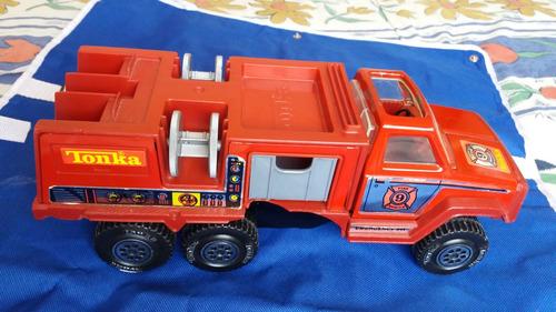 tonka camion bombero rescate 1978