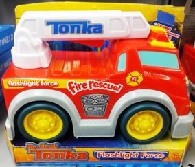 Tonka Camion Carro Juguete Hogar Linterna Niños Bomberos 0wNm8vn