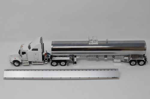 tonkin replicas kenworth t800 y tanque de acero 1:53