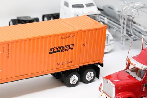 tonkin schneide freightliner cascadia day cab contenedor 53'
