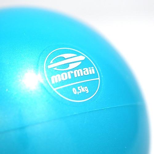 tonning ball 0,5kg musculação bola medicine fit mormaii 4468