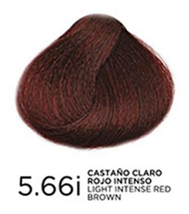 tono 5.66i castaño claro rojo intenso trat. en coloracion bp