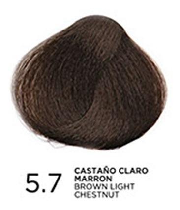 tono 5.7 castaño claro marrón, tratamiento en coloración bp