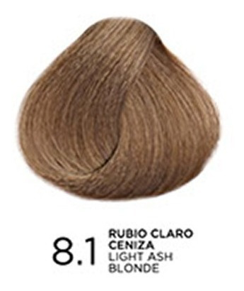 tono 8.1 rubio claro ceniza, tratamiento en coloración bp