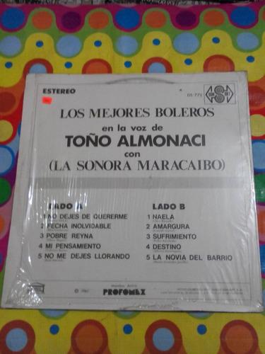 toño almonaci con la sonora maracaibo lp 1980