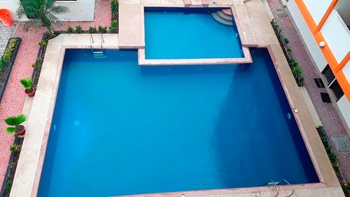 tonsupa arriendo departamento 3 dormitorios 2 baños piscina