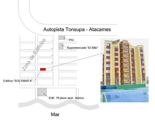 tonsupa departamento amoblado de alquiler cerca de la playa
