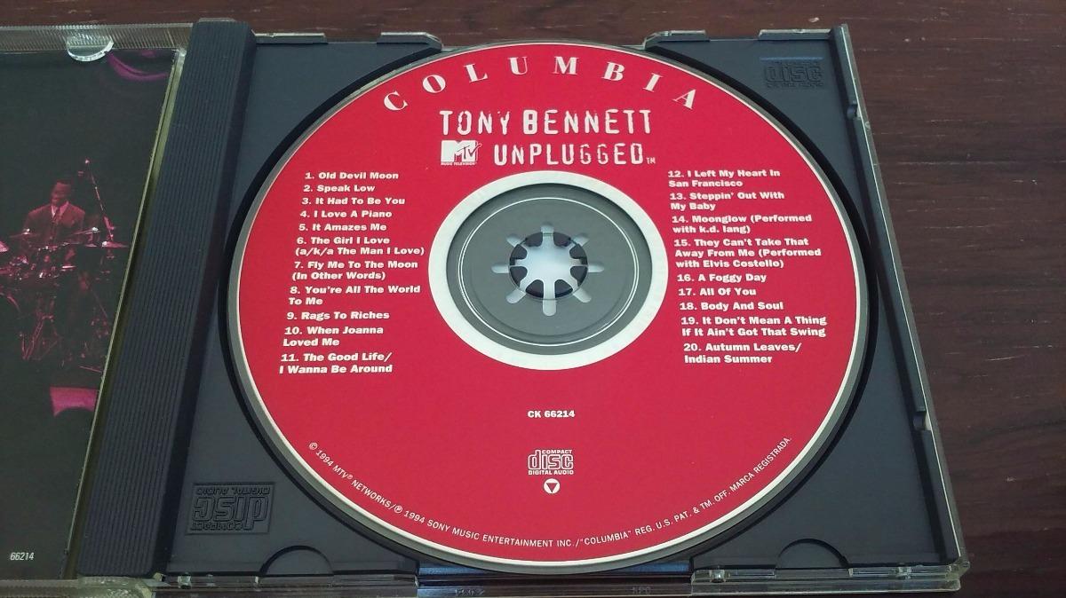 Tony Bennett - Mtv Unplugged * Cd Made In Usa * Mb Estado - $ 200,00