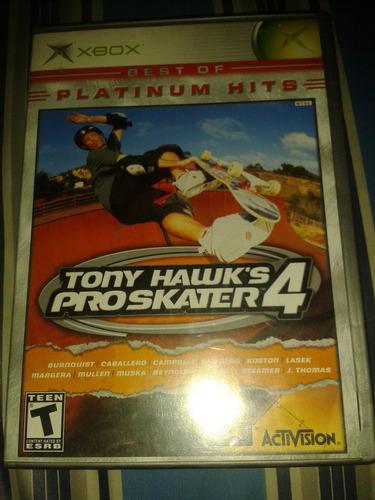 tony hawk pro skater 4 xbox