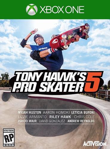 tony hawk pro skater 5 / xbox one / n0 codigo / offline
