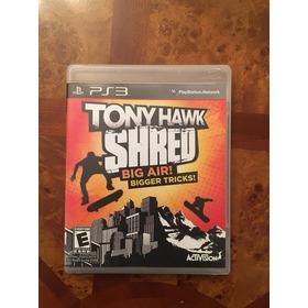 Tony Hawk Shred Ps3 (videojuego Deportivo De Patinetas)