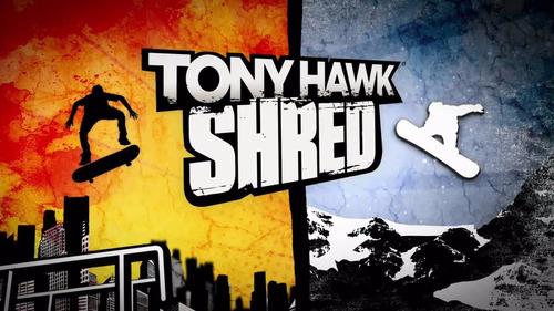 tony hawk shred ps3 - novo
