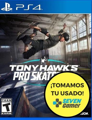 tony hawk's pro skater 1 2 ps4 juego fisico sellado original