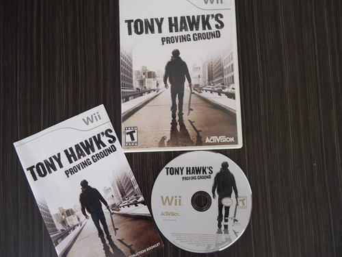 tony hawks proving ground nintendo wii y wii u