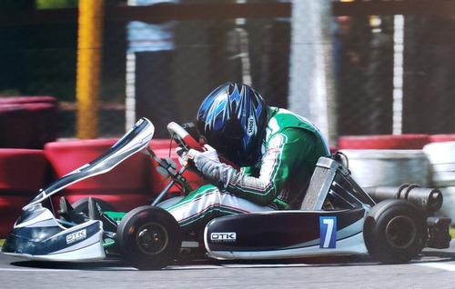 tony kart 2018 racer 401s caño de 30mm