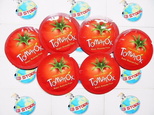 tony moly tomatox magic white massage pack aclarante sachet