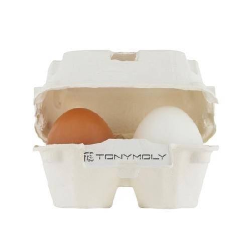 tonymoly - egg pore - shiny skin soap - kit sabonete facial