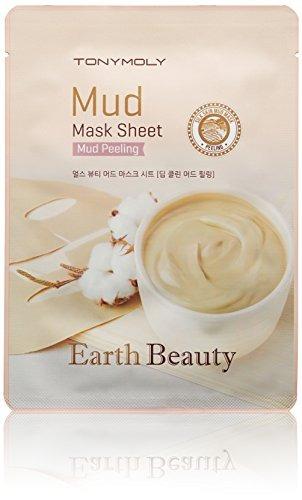 tonymoly hoja de mascarilla de barro earth beauty