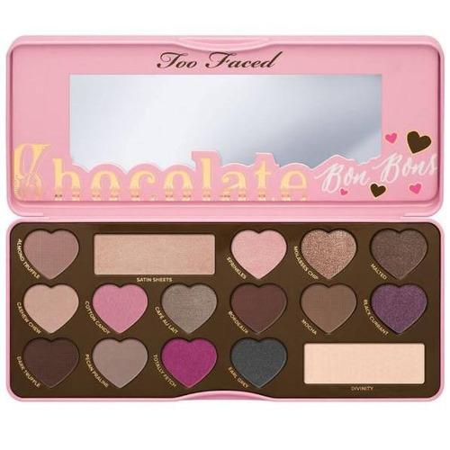too faced - chocolate bon bons - paleta de sombras original