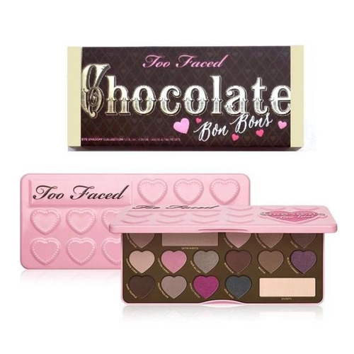 too faced - chocolate bon bons - paleta de sombras original