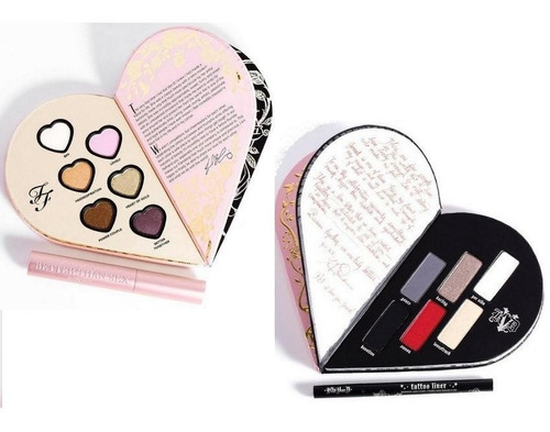 too faced x kat von d - better together - eye collection