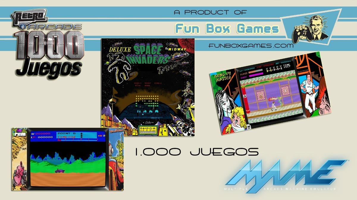 Top 1000 Juegos Arcade Clasicos Para Pc Mame Hyperspin 9 990