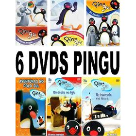 Top 6 Dvds Pingu + Frete Grátis Para Todo Brasil