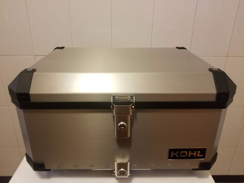 top case kohl 60 lts aluminio rider one