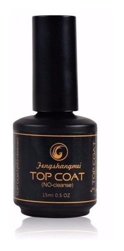 top coat fengshangmei pretinho do poder extra brilho oferta