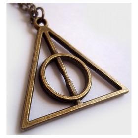 Top Colar Relíquias Da Morte Harry Potter