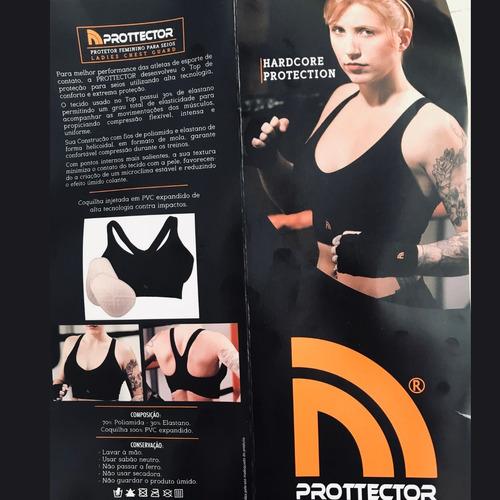 top com proteção feminino prottector compress