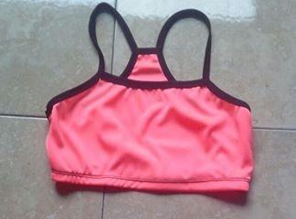 top cortos  de cotton licra para el gym o la playa