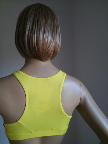 top fitness amarelo apolo tamanho p afrodite