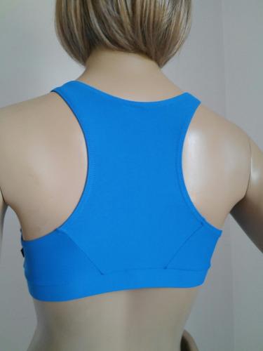top fitness azul lago tamanho p afrodite