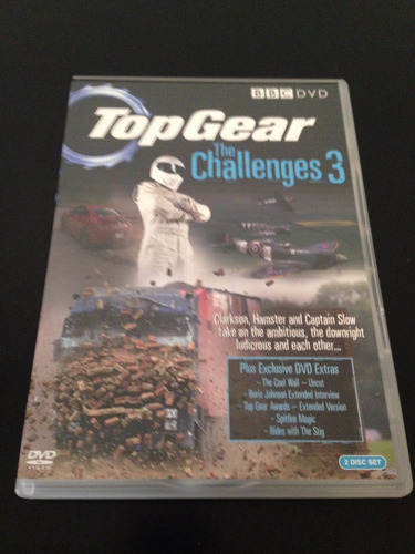 top gear the challenges 3 2xdvds boxset uk