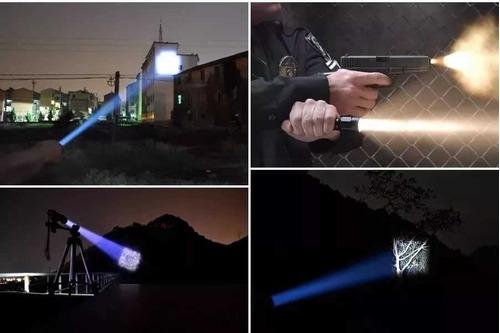 top lanterna militar x1000 t6-g2 + potente + super estojo