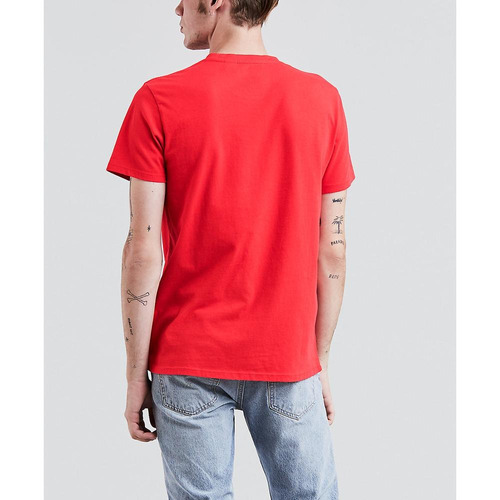 top levi's® hombre graphic set-in neck 2 levi's arched type
