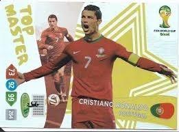 top master* cristiano ronaldo* cards adrenalyn cup 2014