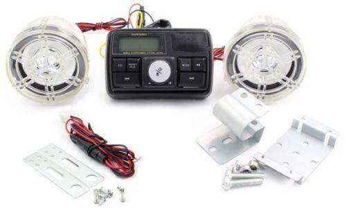 top moto bluetooth audio amplificador estéreo w/2speaker