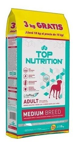 top nutrition medium breed 18 kg