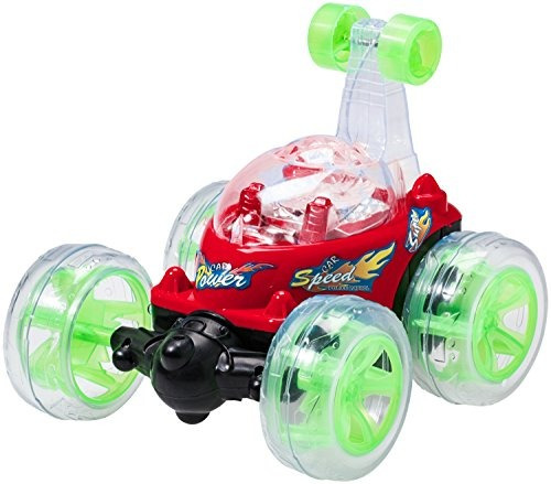 top race control remoto coche cyclone twister rc stunt car