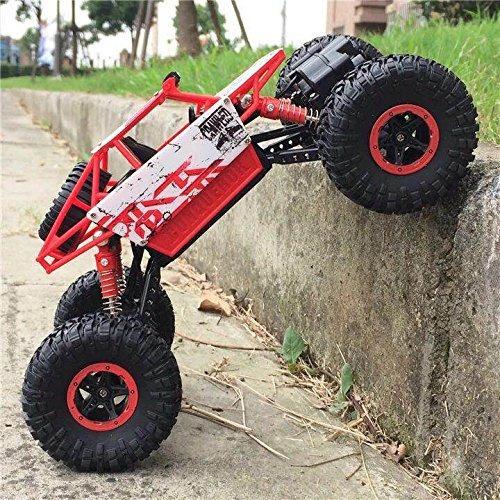 top race control remoto rock crawler, monster rc carro 4wd