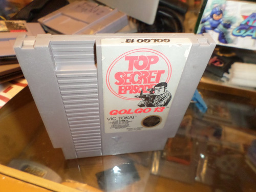 top secret golgo 13 nintendo nes cartucho