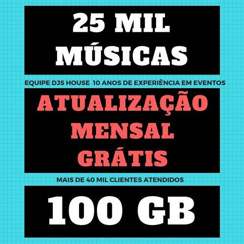 top sertanejo funk pop eletro músicas spotify 100gb