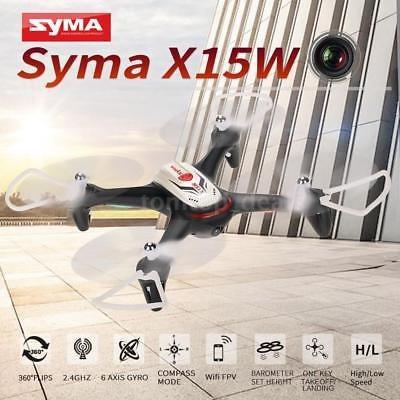 top-venta syma x15w seis axis gyro 3d eversión rc quadcopter